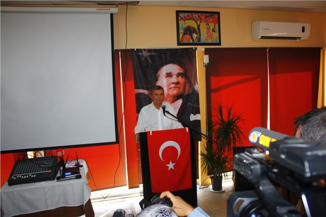 İstemihan Talay Mersin ve İlçelerdeki Basın Mensuplarıyla Bir Araya Geldi
