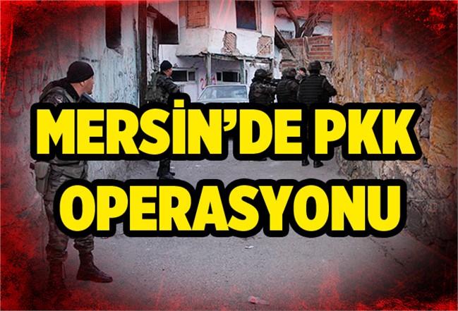 Mersin'de Terör Örgütü PKK üyesi 2 Kişi Yakalandı