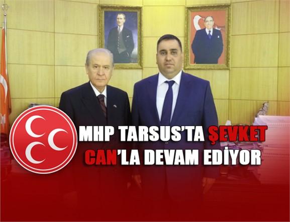 MHP Tarsus Belediye Başkan Adayı Belli Oldu, MHP Tarsus'ta Şevket Can'la Devam Edecek
