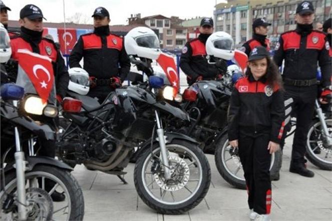 Mersin'de Motosikletli Polis Timleri İş Başında