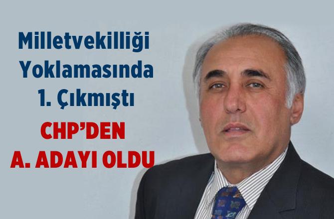 Alptekin Eser Mersin Chp'den Belediye Başkanlığı A. Adaylığını Açıkladı