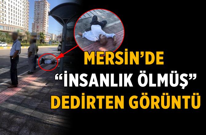 """Mersin'de """"İnsanlık Ölmüş"""" Dedirten Görüntü"""