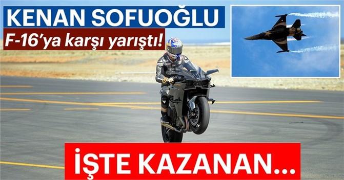 Kenan Sofuoğlu F-16'ya Karşı Yarıştı. İşte Nefeslerin Tutulduğu Yarışın Kazananı