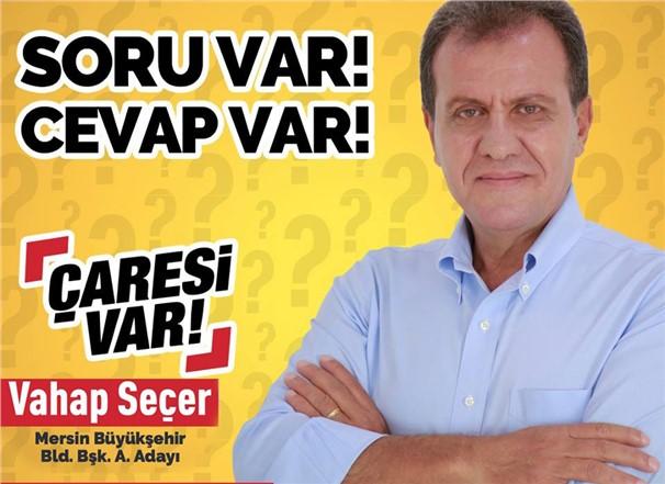 Mersin Bühükşehir Belediye Başkan A.Adayı Vahap Seçer'den İnteraktif Çalışma