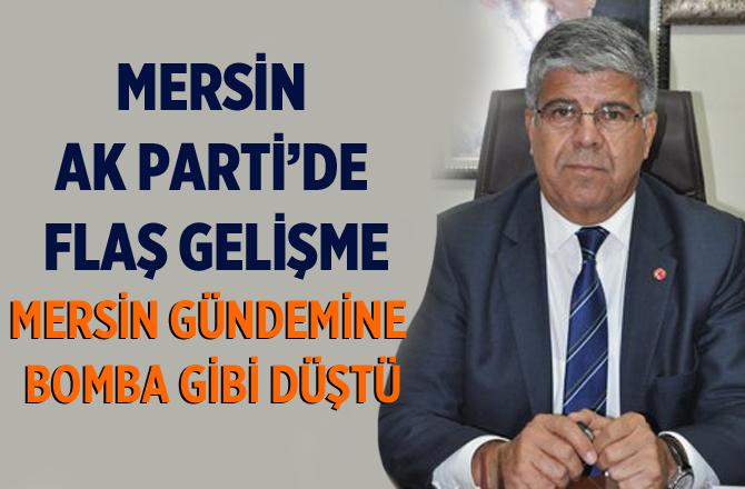 Tarsus Ak Parti'de Mehmet Yıldız Bombası
