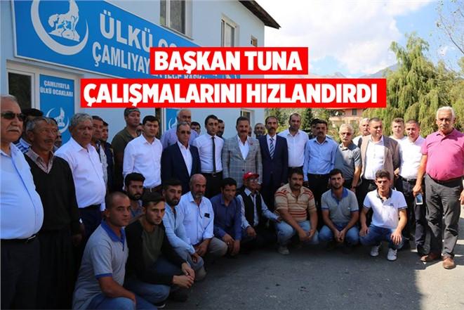 Mersin Büyükşehir Belediye Başkan Adayı Tuna Çalışmalarını Hızlandırdı