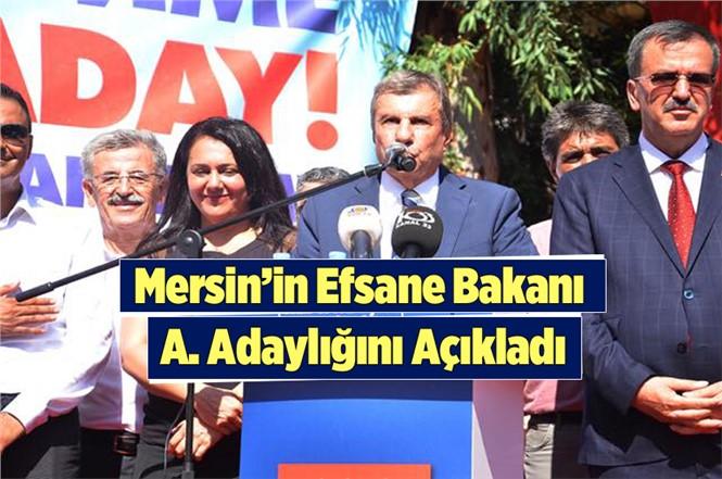 İstemihan Talay, Mersin Büyükşehir Belediye Başkanlığına Aday Adaylığını Açıkladı