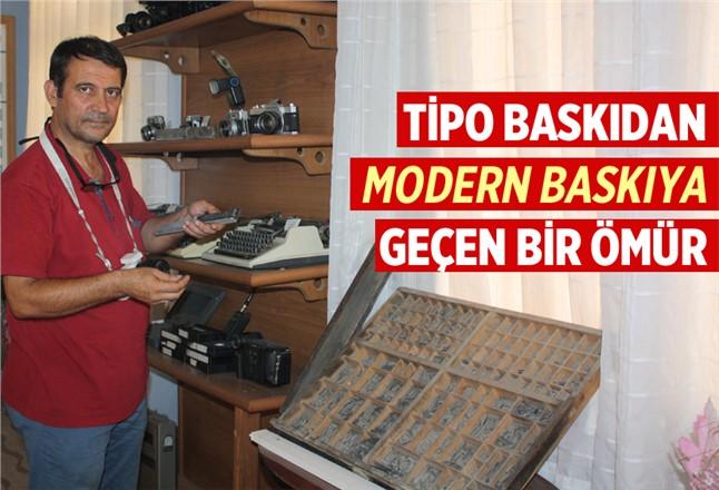 Mersin'de Tipo Gazetecilikten Modern Gazeteciliğe Geçen Bir Ömür