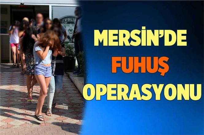 Mersin'de Masaj Salonuna Fuhuş Baskını