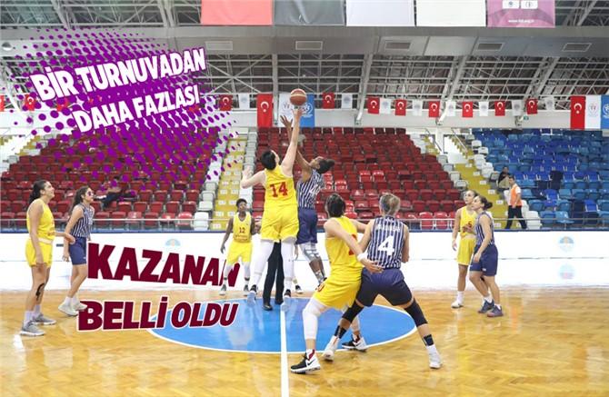 Özgecan Aslan Basketbol Turnuvasının Kazananı Ogm Ormanspor Oldu