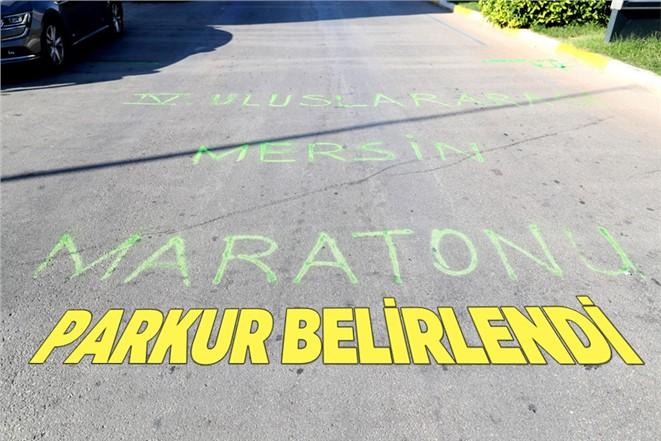 Uluslararası Mersin Maratonu Parkurları Belirlendi