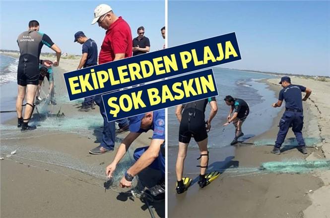 Mersin'de Ekiplerden Usulsüz Balık Avcılarına Şok Baskın