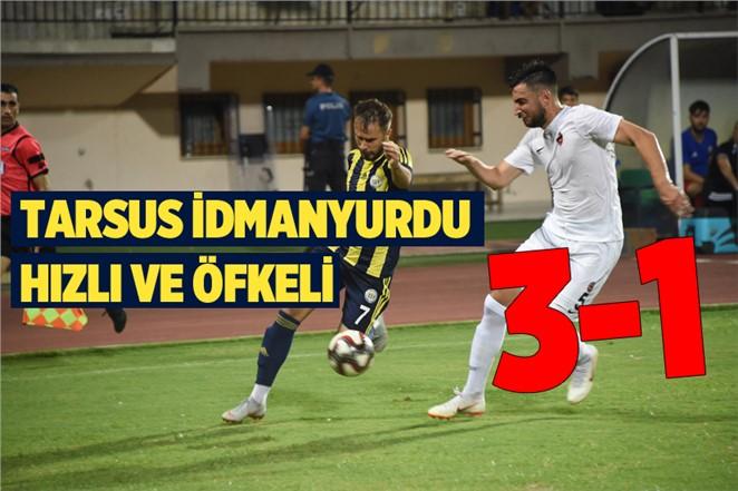 Tarsus İdman Yurdu - Manisa Büyükşehir Belediyespor: 3-1