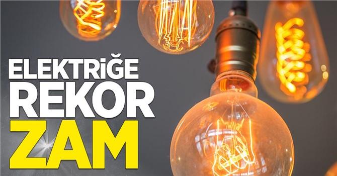 Elektriğe Rekor Zam! Elektrik Faturası Cepleri Yakacak