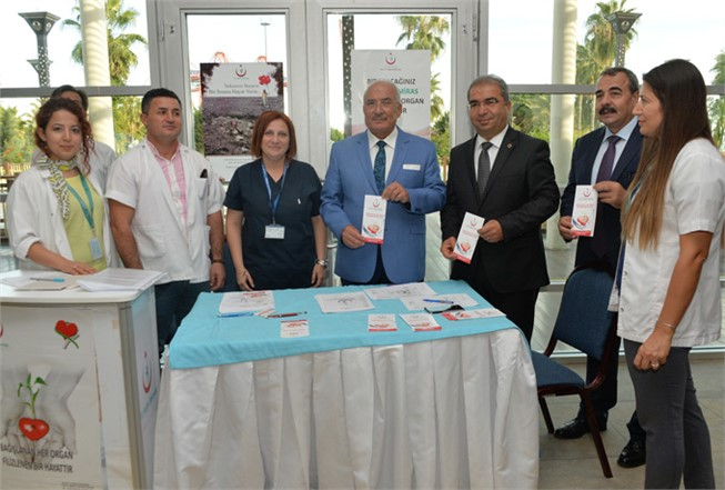 Mersin'de Organ Bağışı Etkinliği