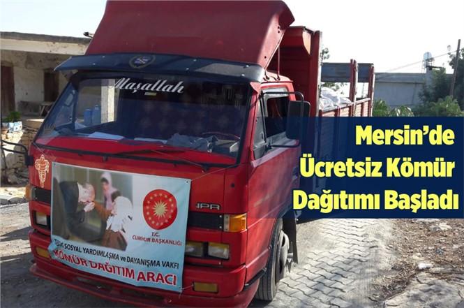 Mersin'de Ücretsiz Kömür Dağıtımı Başladı