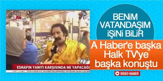 A Haber'e Farklı, Halk Tv'ye Farklı Konuşan Balıkçı Sosyal Medyayı Salladı