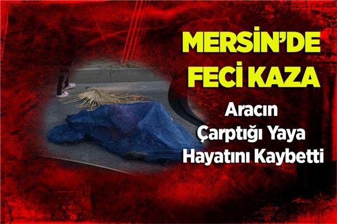 Mersin'de Aracın Çarptığı Yaya Yaşamını Yitirdi