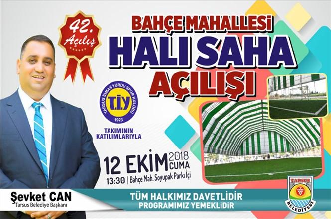 Tarsus Belediyesi Açılışlarına Devam Ediyor