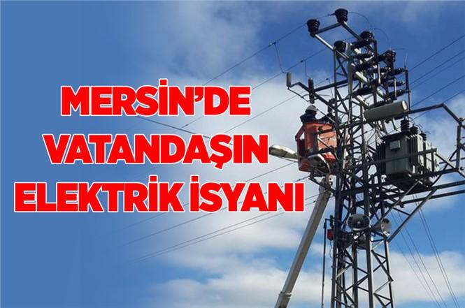 Mersin'de Vatandaşı Elektrik İsyanı