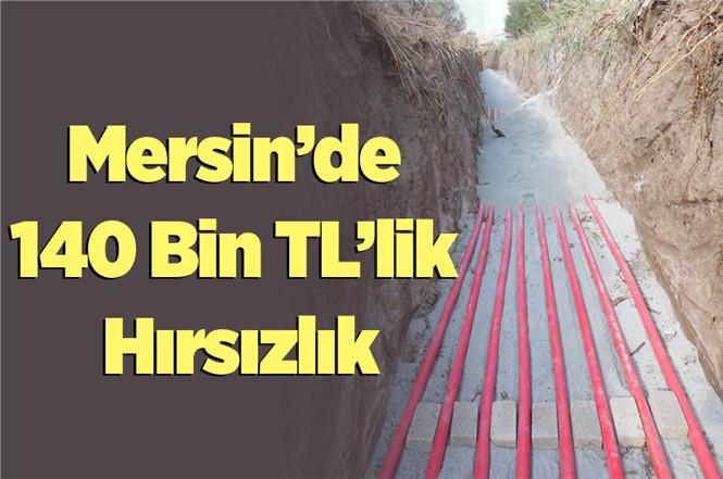 Mersin'de 140 Bin Liralık Hırsızlık İddiası
