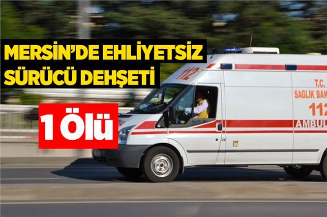 Mersin'de Trafik Kazası Yusuf Lüzumlu Hayatını Kaybetti