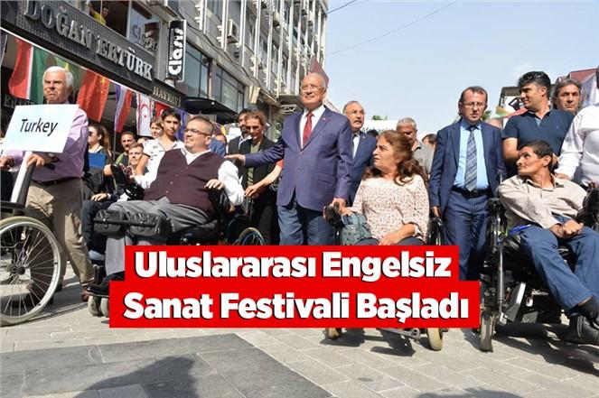 2. Uluslararası Mersin Engelsiz Sanat Festivali Başladı