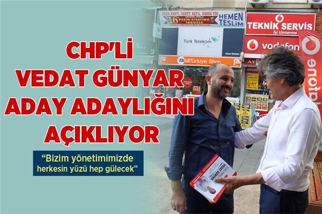 CHP'nin Doktor Adayı Vedat Günyar Aday Adaylık Açıklaması Yapıyor