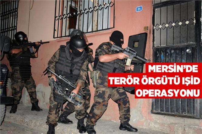 Mersin'de DEAŞ/IŞİD'e Şafak Baskını