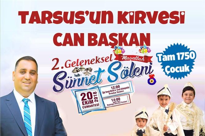 Tarsus'ta Dev Sünnet Şöleni 20 Ekim 2018 Cumartesi Günü Yapılacak
