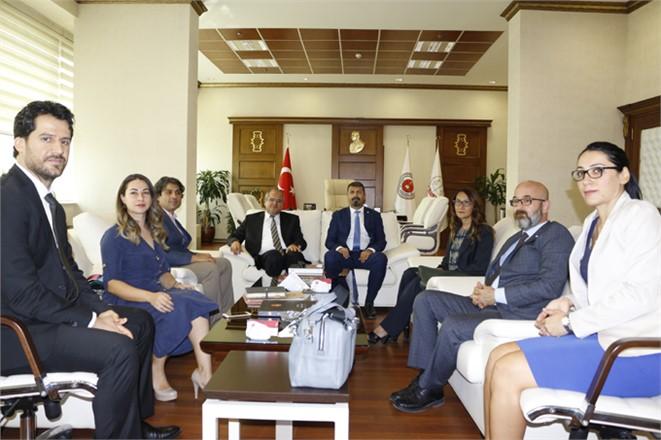 Yeşilboğaz'dan Adalet Komisyonu Başkanı Kahveci'ye Ziyaret
