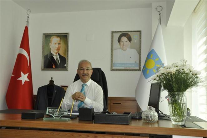 İYİ Parti Mersin İl Başkanı Servet Koca'dan 19 Ekim Muhtarlar Günü Mesajı