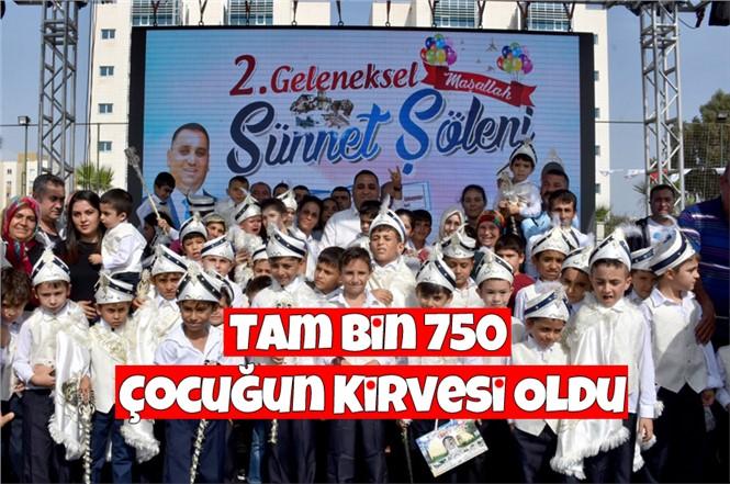 Tarsus'ta Sünnet Ettirilen Bin 750 Çocuk İçin Sünnet Şöleni Gerçekleştirildi.