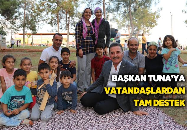 MHP Mersin Büyükşehir Adayı Hamit Tuna'ya, Vatandaşlardan Tam Destek
