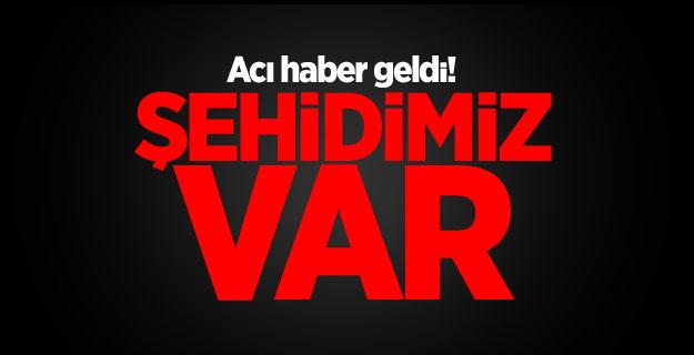 Acı haber Erzincan'dan geldi: 1 şehit...