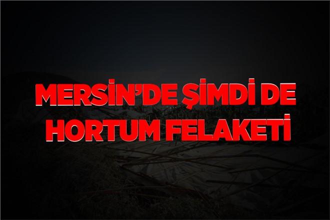 Mersin Bozyazı'da Hortum Dehşeti
