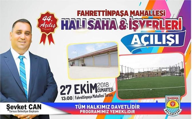 Tarsus Belediyesinde Bu Hafta 2 Açılış Birden