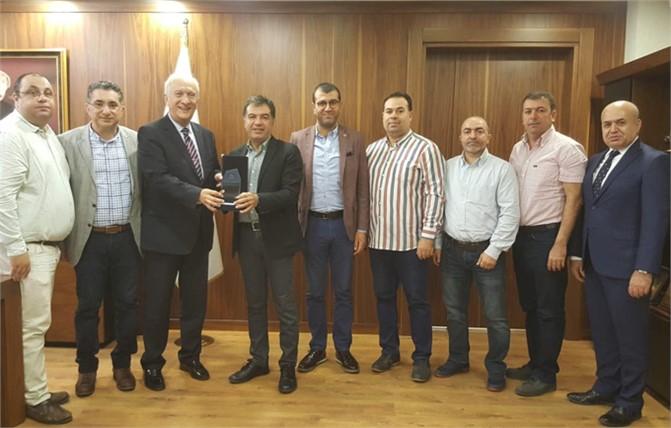 Türk-Alman Ticaret ve Sanayi Odası'ndan Tarsus Ticaret ve Sanayi Odası'na Ziyaret