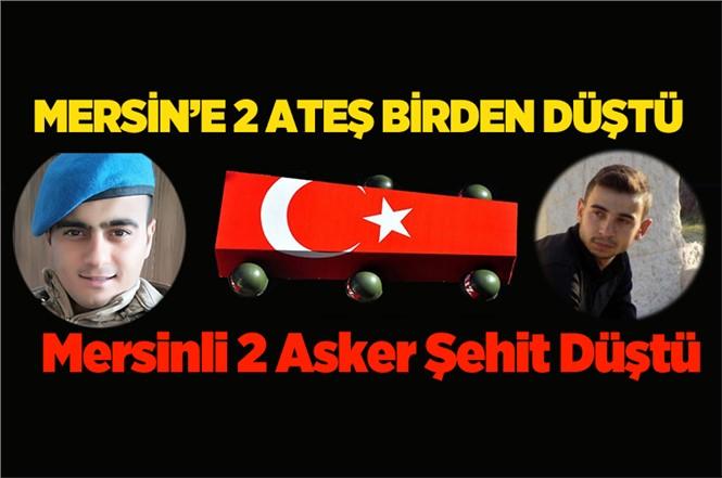 Mersinli Uzman Çavuş Asım Türkel ve Uzman Çavuş Ferruh Dikmen Tunceli'de Şehit Düştü