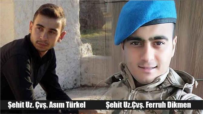 Mersin'de Uzm. Çavuş Asım Türkel ve Uzman Çavuş Ferruh Dikmen İçin Tören Düzenlenecek