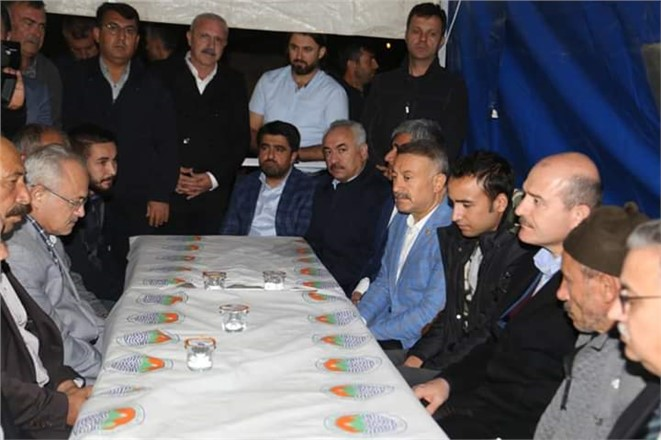 İçişleri Bakanı Süleyman Soylu Mersin'de