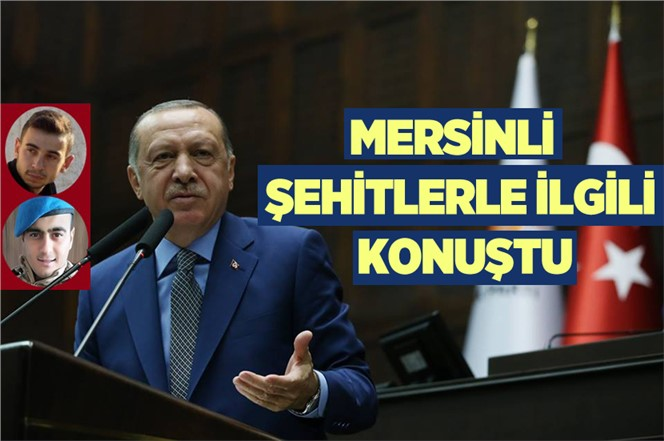 Cumurbaşkanı Erdoğan, Donarak Şehit Olan Mersinli Şehitlerle İlgili Konuştu