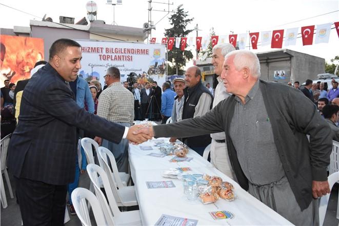 Başkan Can'dan Kaleburcu Mahallesinde Hizmet Bilgilendirme Toplantısı