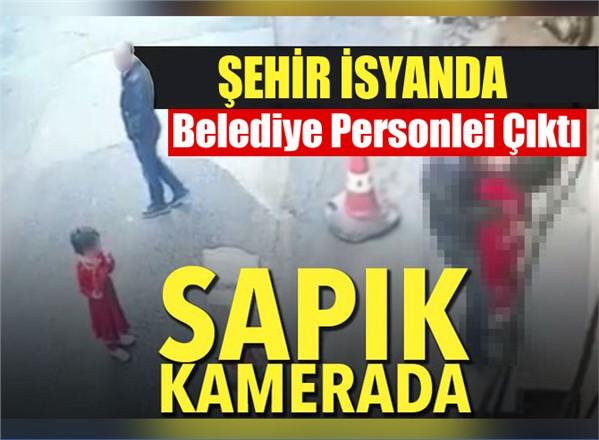 Trabzon'da iğrenç olay! Küçük kıza taciz güvenlik kamerasında