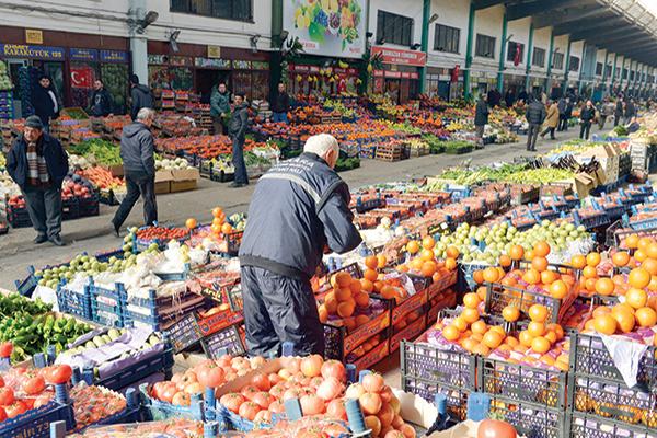 Mersin Yaş Sebze Halinde Sebze Fiyatları