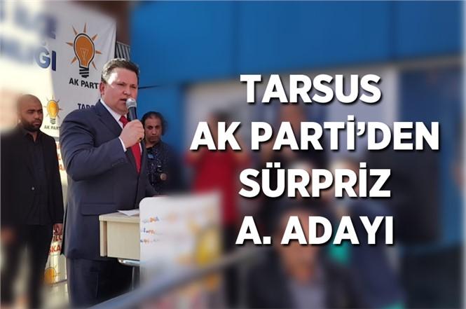 Nevzat Çetin AK Parti'den Tarsus Belediye Başkan Aday Adaylığını Açıkladı