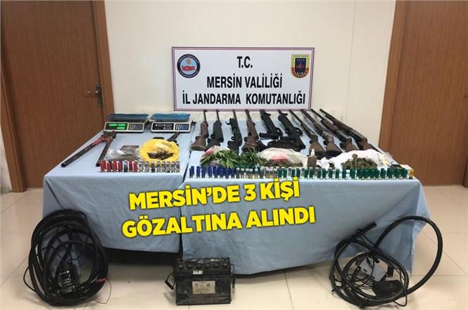Mersin Tarsus'ta Uyuşturucu Operasyonu 3 Kişi Gözaltına Alındı