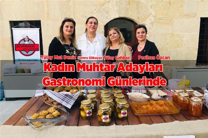 Mersin Tarsuslu Kadın Muhtar Adayları Gastronomi Günlerinde