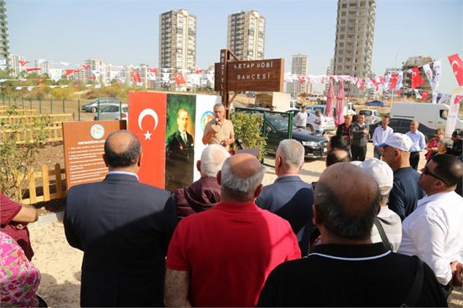 Mersin Mezitli'de Açılış: Mezitli Belediyesi 5. Etap Hobi Bahçesi Açıldı