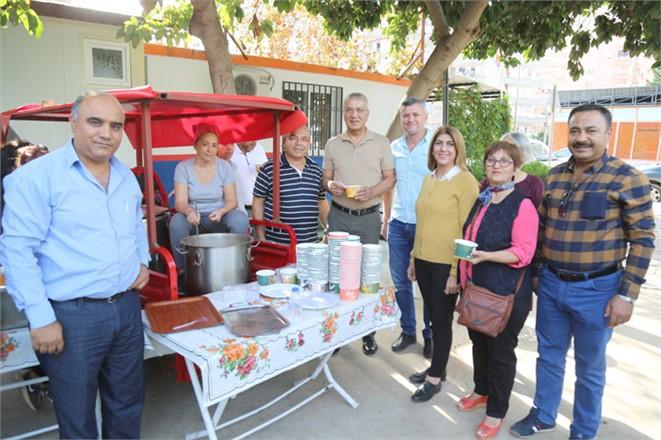 Mersin Mezitli Belediyesi Gönüllüler, Sabah Çorbasında Buluştu
